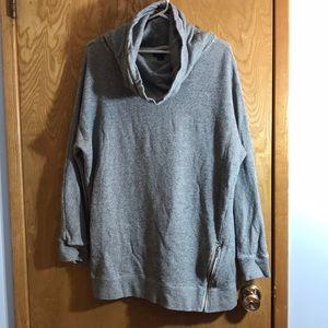 Roots Salt & Pepper Cowl Sweater